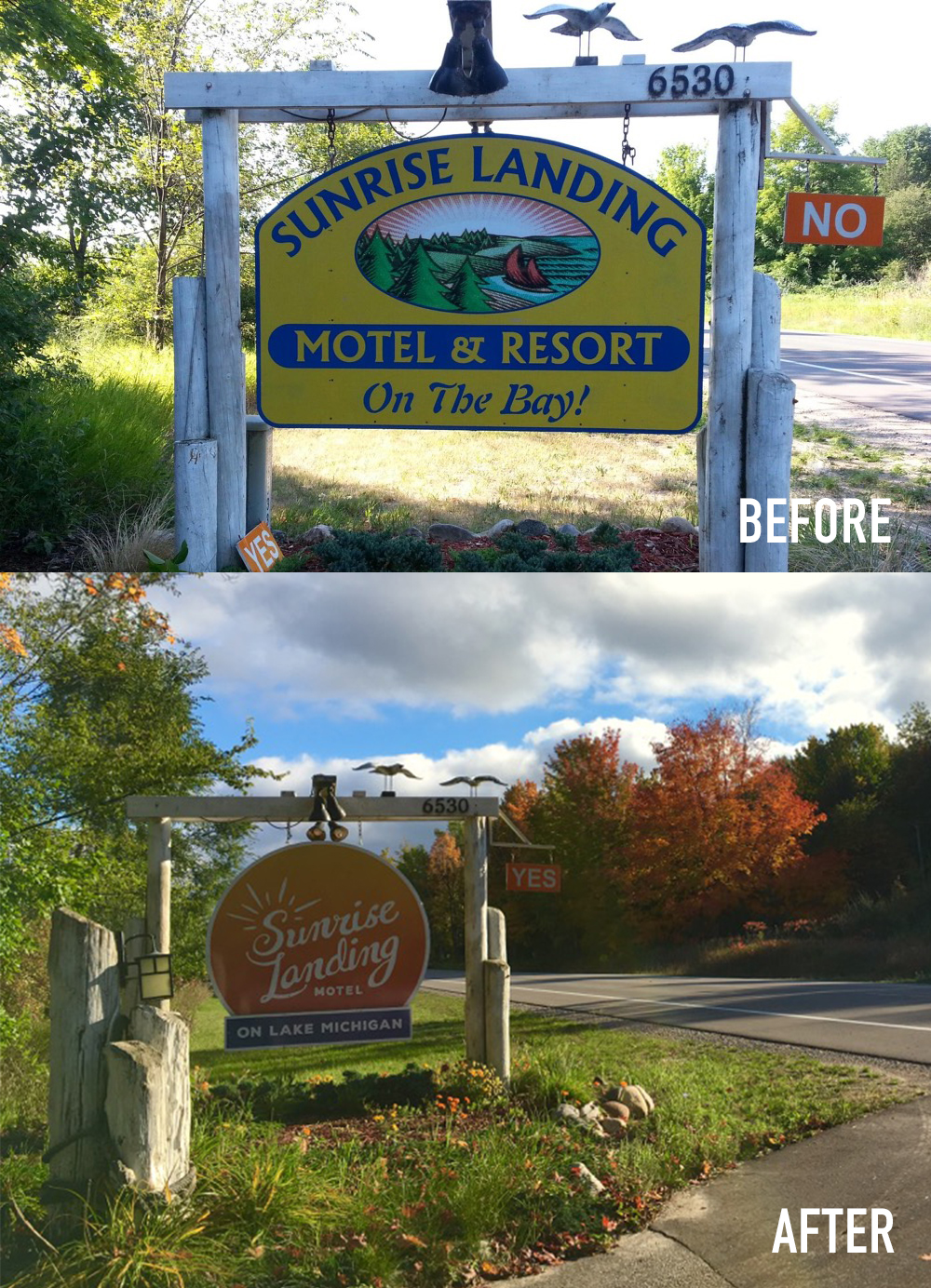 New sign before after messy minimalist for Minimalism before and after